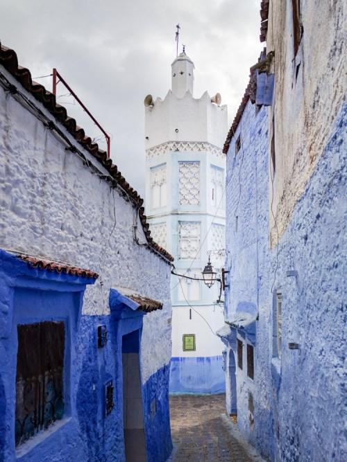 Minaret in Chefchaouen, Morocco by Wandering Wheatleys