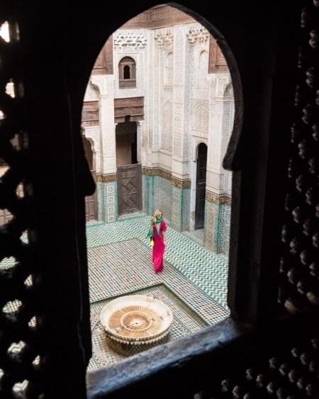 Madrasa Bou Inania, Meknes, Morocco by Wandering Wheatleys