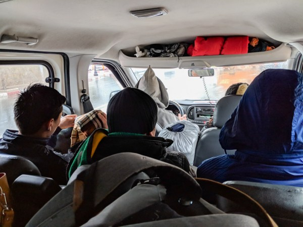 Riding in a Grand Taxi, Morocco by Wandering Wheatleys