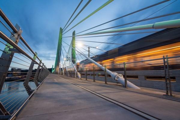 MAX Light Rail in Portland, Oregon by Wandering Wheatleys