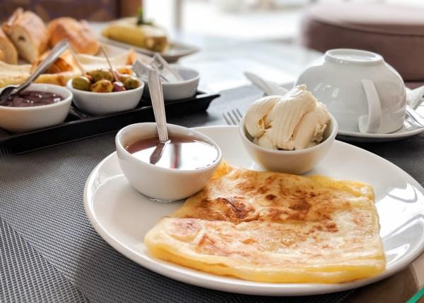 What to Eat in Morocco: Msemen by Wandering Wheatleys