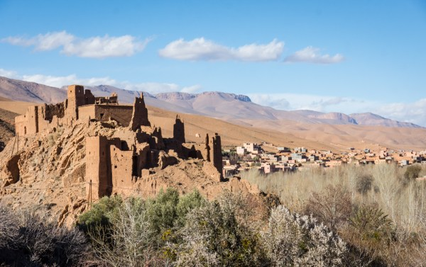 Kasbah in Dades Gorges, Morocco by Wandering Wheatleys