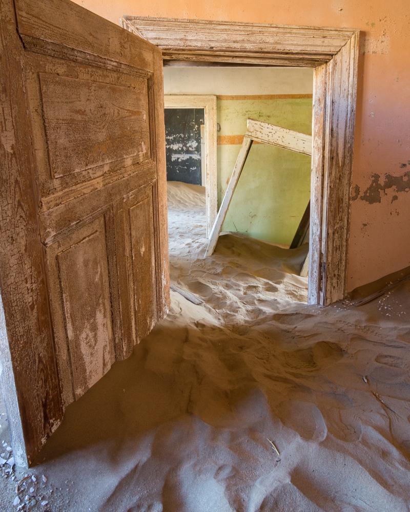 Kolmanskop Ghost Town, Namibia by Wandering Wheatleys