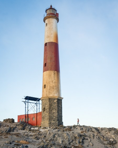 Lighthouse at Diaz Point, Luderitz, Namibia by Wandering Wheatleys