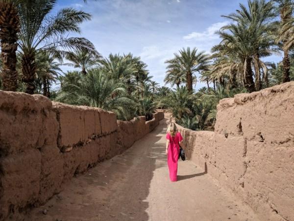 River walks in Zagora, Morocco by Wandering Wheatleys