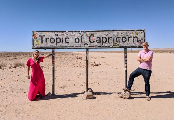 Tropic of Capricorn, Namibia by Wandering Wheatleys