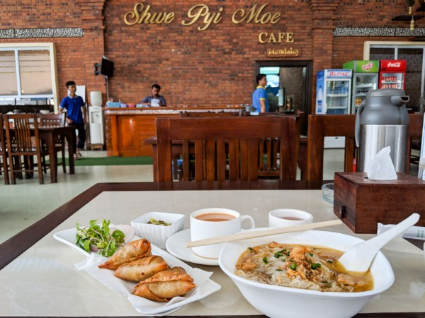 Best Tea Shop in Mandalay: Shwe Pyi Moe