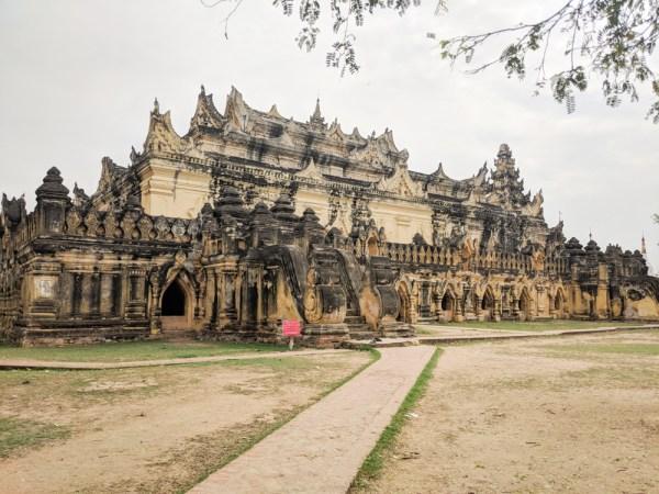 Mai Nu Monastery, Innwa, Myanmar