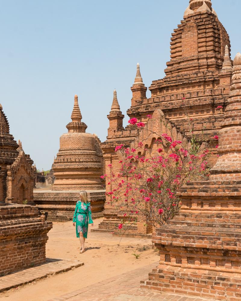 Pagodas in Bagan, Myanmar
