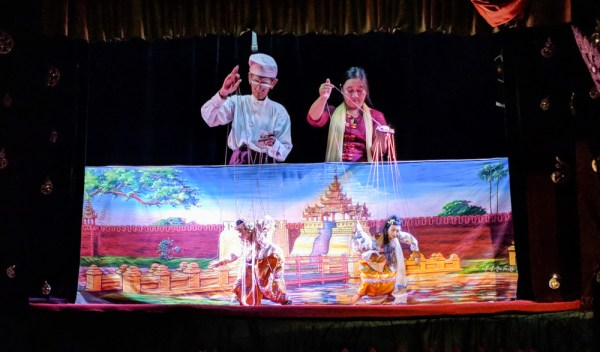 Puppet Show at Mandalay Marionette, Myanmar