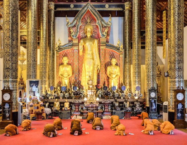 Things To Do in Chiang Mai: Monks Praying