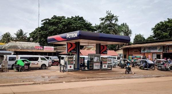 Petron Station in Rio Tuba, Philippines