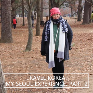 Travel Korea: My Seoul Experience, Part 2