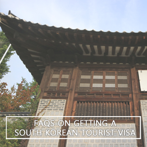 Frequently Asked Questions on Getting a South Korean Tourist Visa for Filipinos