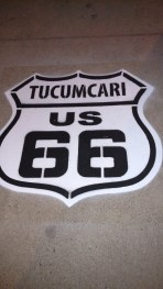 Tucumcari, NM is located on historic Route 66.