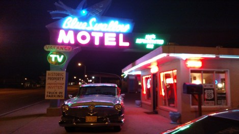 The Blue Swallow Motel has been in business since 1940!