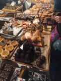 Night market at the Bakery with desserts to die for - obviously I tried a couple...