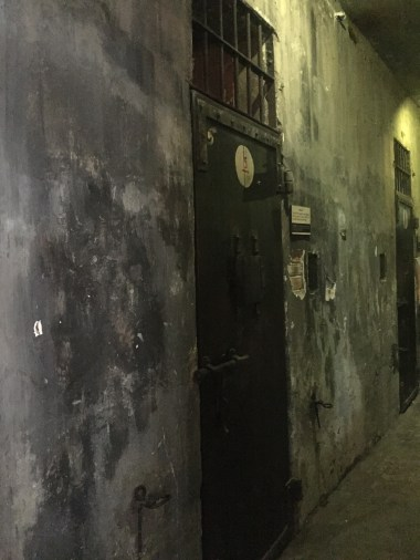 Solitary confinement cells.