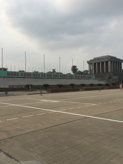 The great Ho Chi Minh Mausoleum
