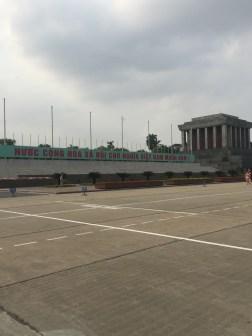 The great Ho Chi Minh Mausoleum