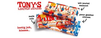 De nieuwe limited editions van Tony's Chocolonely