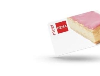 Er is sinds kort een HEMA klantenkaart!