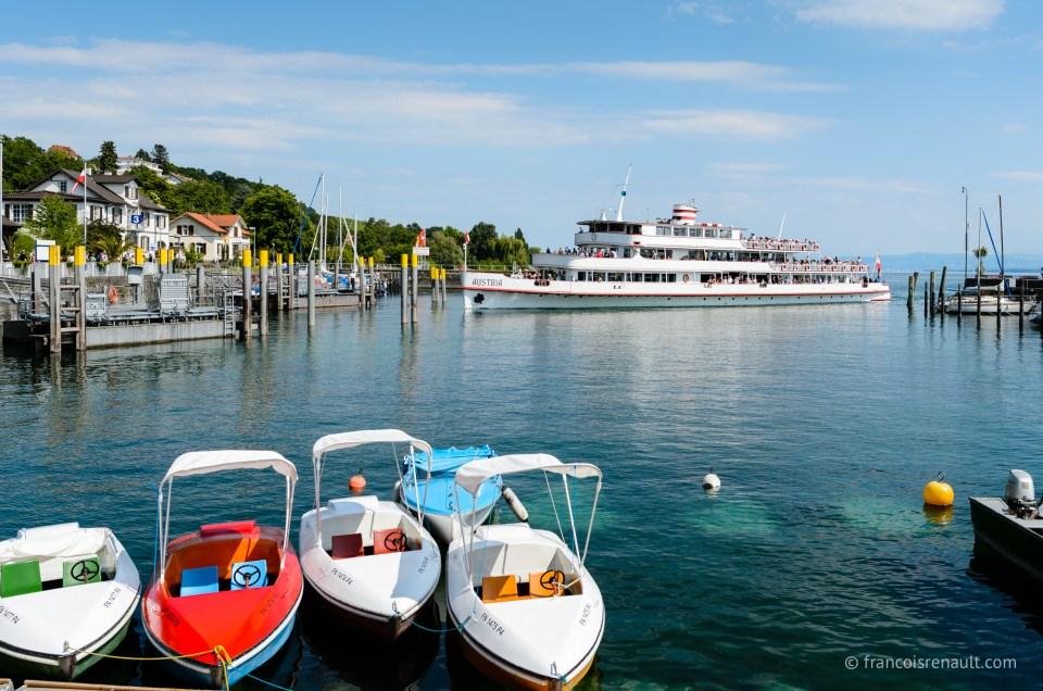 Am Bodensee, au bord du lac
