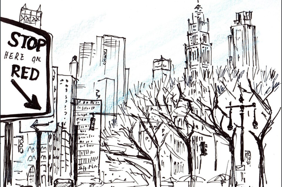Sketching New York