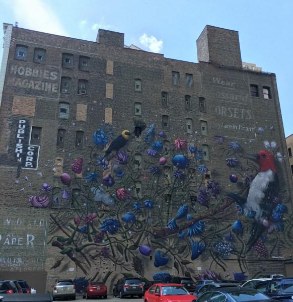 Chicago Street Art Bird