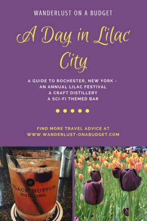 A Day in Lilac City - things to do in Rochester New York - Black Button Distilling - Wanderlust on a Budget - www.wanderlust-onabudget.com