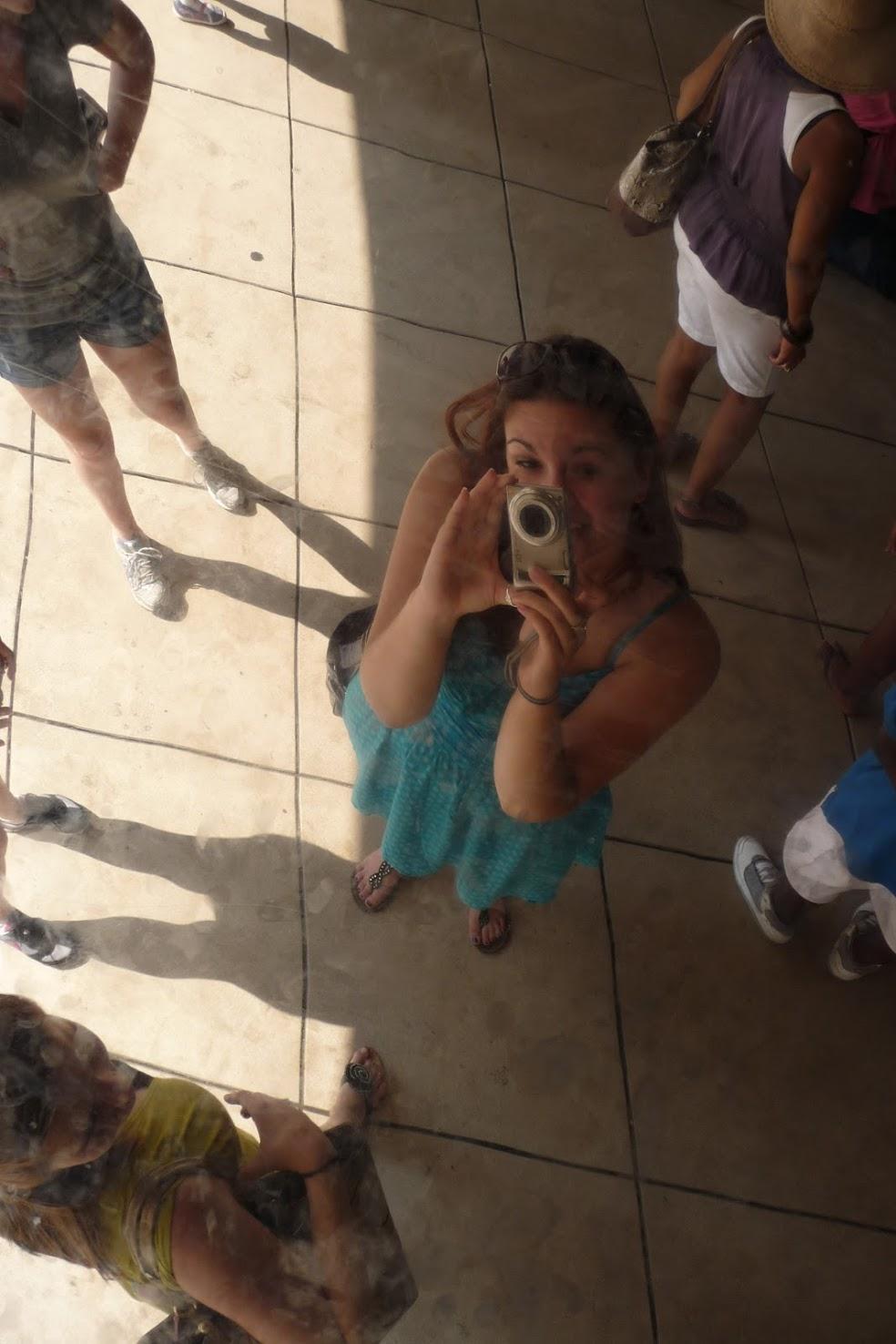 Selfie at the bean