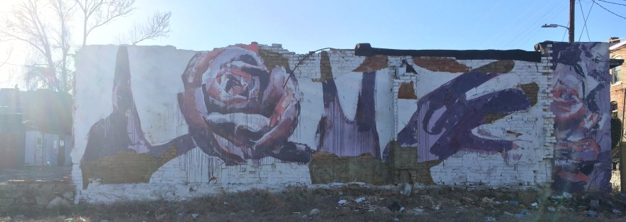 Baltimore Love Mural
