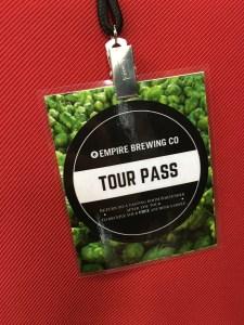 Empire Farm Brewery Tour