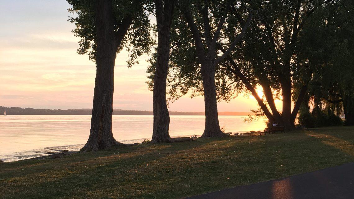 Sunset on Onondaga Lake
