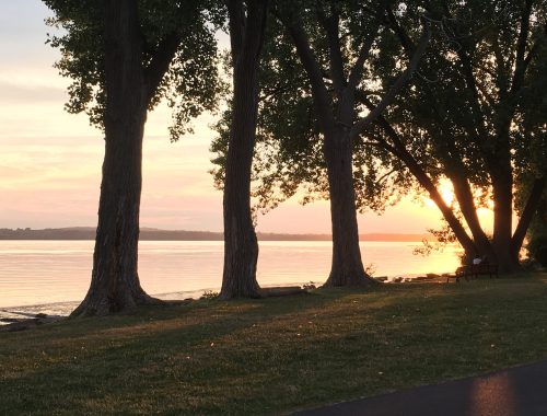 Sunset on Onondaga Lake