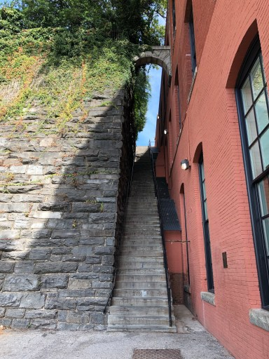 Horror Movie Location - Exorcist Steps in Georgetown