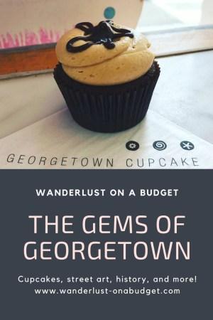 Georgetown Cupcake Pinterest