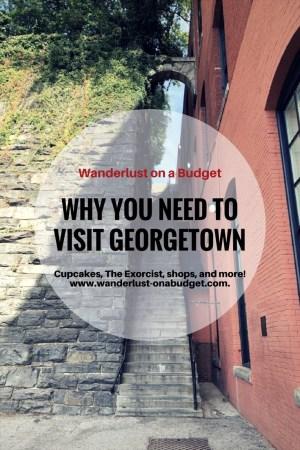 Georgetown Pinterest