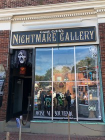 Count Orloks Nightmare Gallery - monster museum in Salem