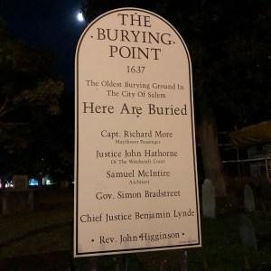 The Burying Point - Salem