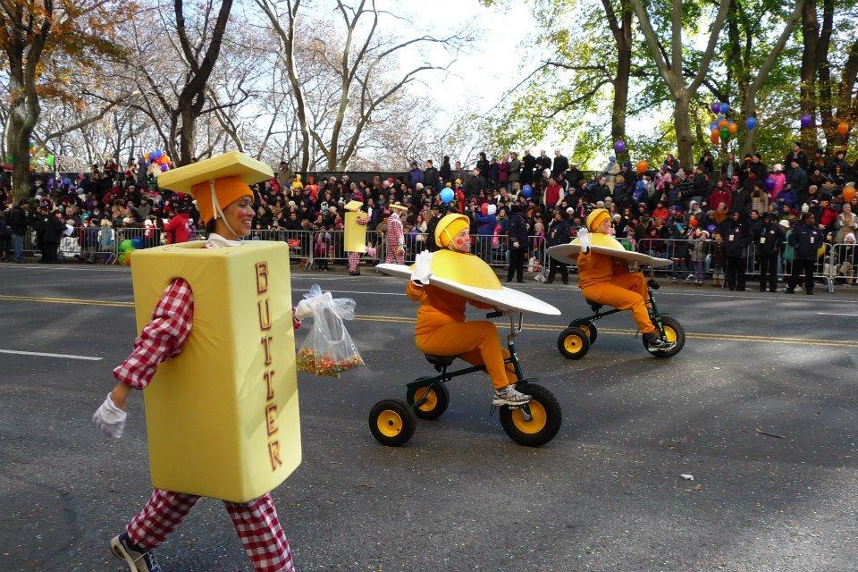 NYC Macys Thanksgiving Parade Eggs