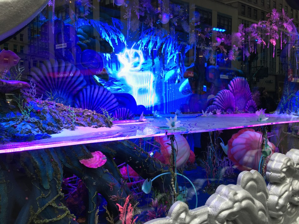 NYC Macys Window 1