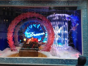 NYC Macys Window Dream