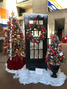 Festival of Trees Door
