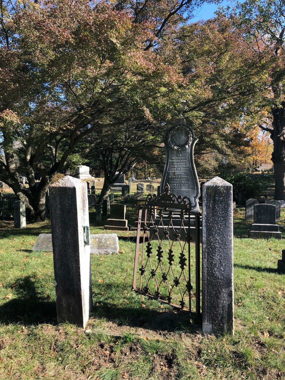 Sleepy Hollow Cemetery Gate