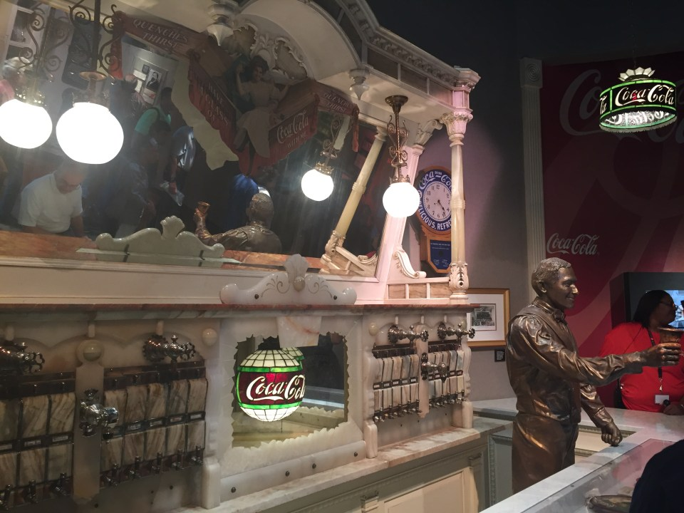 Atlanta Coca-Cola Bar