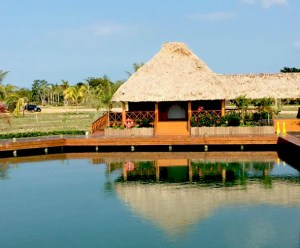 Belize - Harvest Caye Building