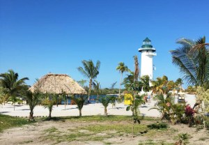 Belize Harvest Caye Lighthouse