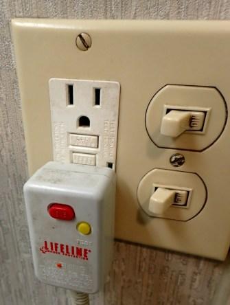 Neglected Room Plug Travel Fail