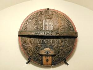 Hofbrauhaus 5000 Liter Barrel - Munich
